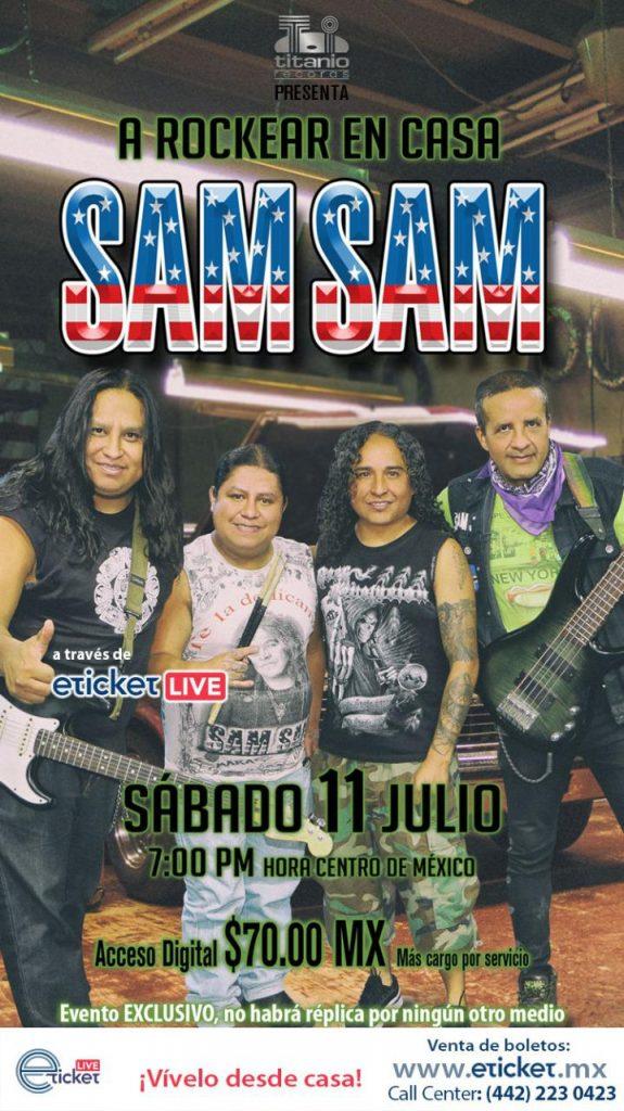 Sam Sam en concierto