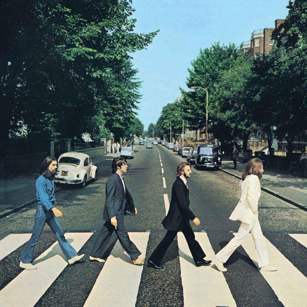 Portada del Abbey Road del grupo The Beatles