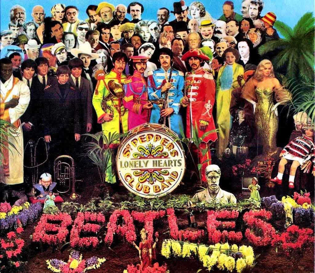 Portada de Sgt. Pepper's Lonely Hearts club band